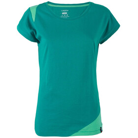 La Sportiva Chimney T-shirt Dame emerald/mint
